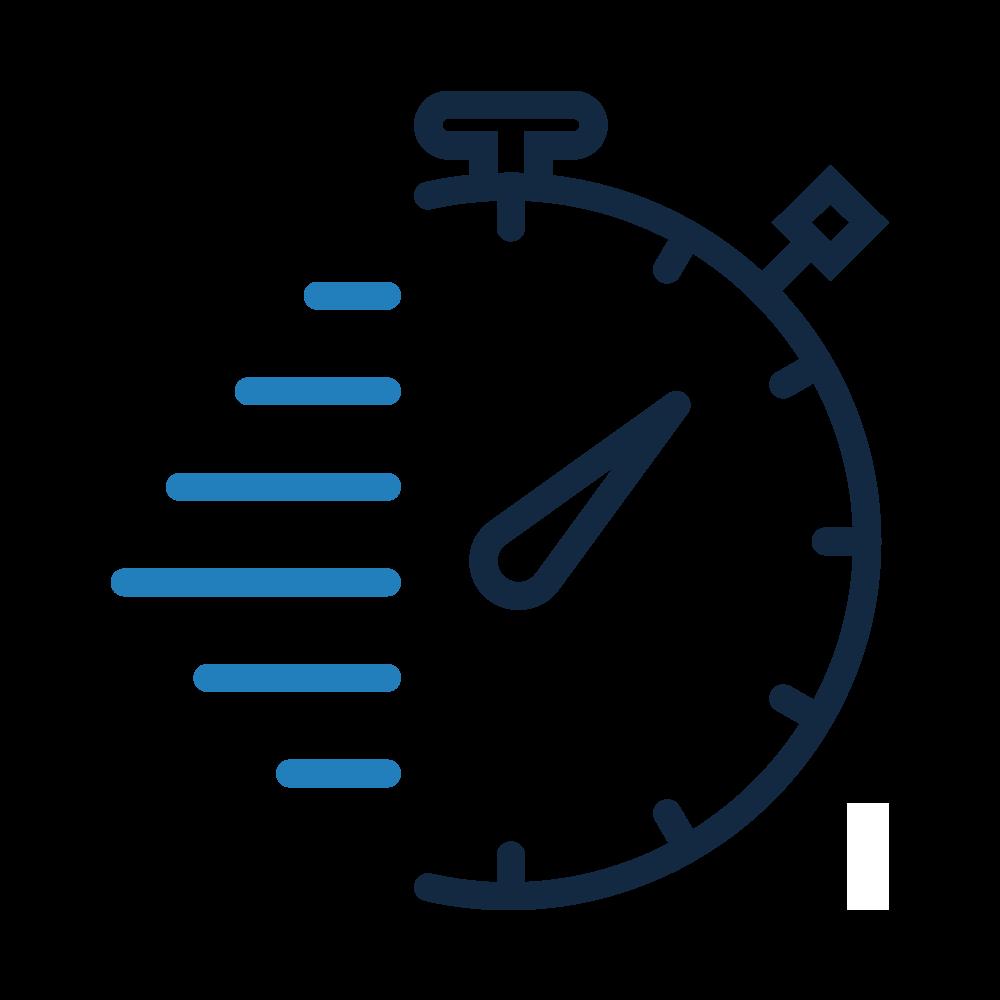 Icone chronomètre, agile