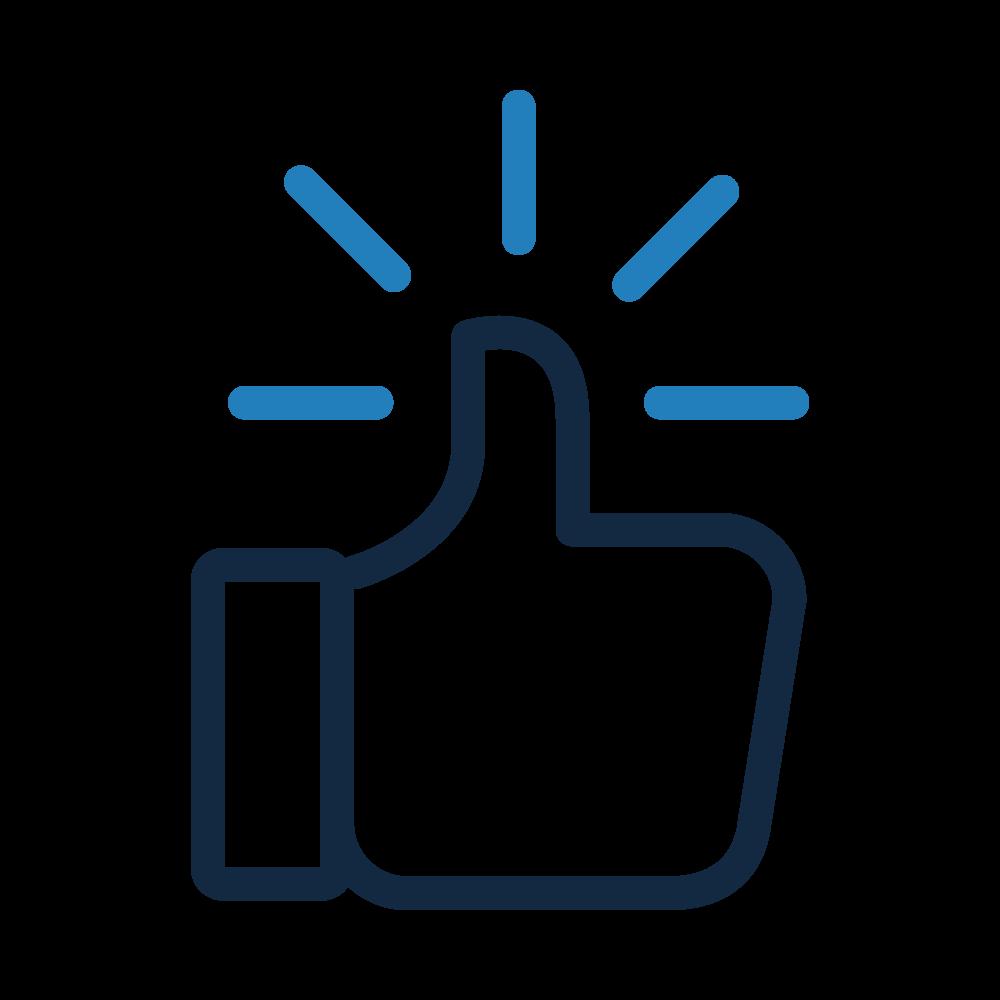 Icone thumb, qualité des données, BIPP Consulting
